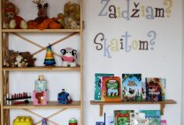 Joyful font - Wall letters [photo by: Melika Vičkutė www.melika.lt]