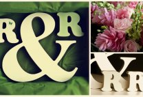 Wedding gift, Bubble font